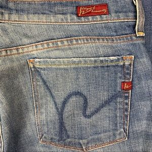 Citizens of Humanity Kelly Bootcut Size 30